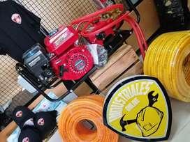 Fumigadora estacionaria honda + rollo de manguera 100mts