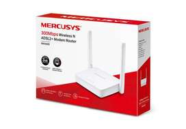 Router Mercusys Mw300d 300 Mbps N Adsl2+ Modem