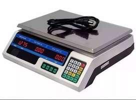 Pesa Bascula Electrónica Balanza Precisión 40kg 7 Memorias