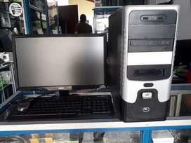 "COMPUTADOR DUAL CORE RAM 2GB HDD 80GB  MONITOR ACER 19"""