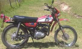 Hermosa moto Clasica