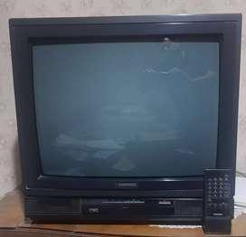 Televisor Toshiba 21 Flat Square Tube (FST) c/Control remoto Original