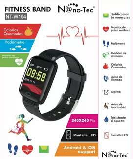 Smartwatch Fitness Band NT-W104 sumergible