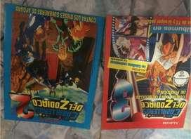 Album Caballeros del zodiaco 2 y 3  Figuras sueltas