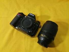 CÁMARA NIKON D7100, LENTE 18-140mm VR