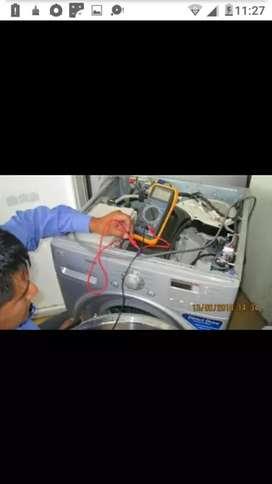 Reparación instalación de aires acondicionado.Reparación de heladeras,lavarropas,microondas