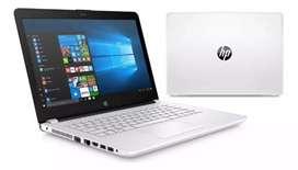 Portatil HP Pantalla HD Intel N3060 1.6Ghz over to 2.4 Ghz 4GB RAM 160Gb HDD