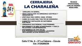 CERRAJERÍA LA CHARALEÑA