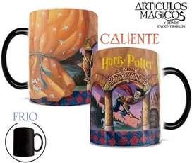 Tazas mágicas 11 onzas - Diseños Harry Potter