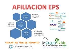AFILIACIÓN EPS  ARL  AFP CCF AFP M. PREPAGADA Y SEGUROS VIDA