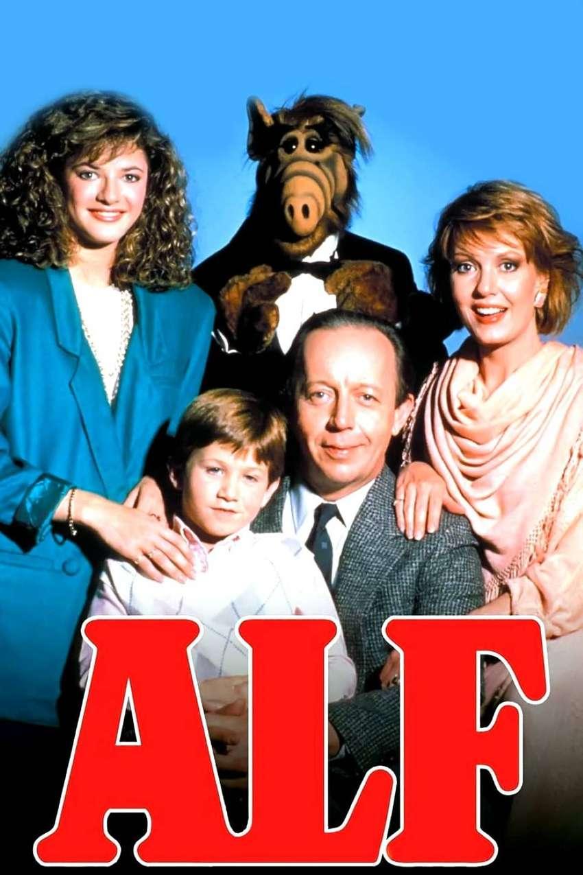 ALF (1986-1990) Serie completa (103 episodios) + Su película en 2 idiomas con ENVÍO INCLUIDO