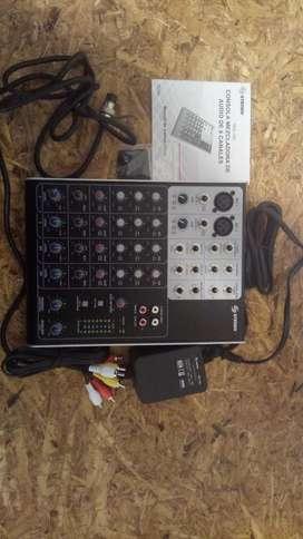 Consola Mezcladora 6 Canales