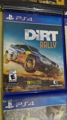 DIRT RALLY PS4 como nuevo