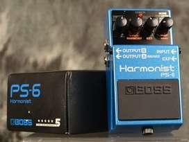 pedal boss armonist ps-6
