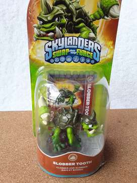 Skylanders Swap Force, Slobber Tooth - Clobber And Slobber.