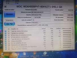 Disco duro  640 gigas