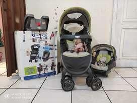 Coche Graco con Seatcar (asiento bebe)
