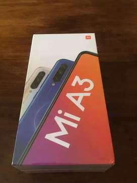 Xiaomi A3. EN CAJA SELLADA.. cámara trasera 48 mpx selfie 32 mpx..