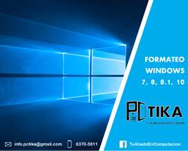 Formateo Windows
