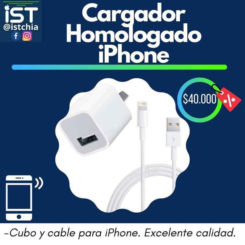 Cargador iphone homologado