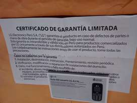 REMATO CELULAR LG A270 usado en buen estado