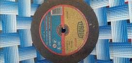 Discos de acero para amoladora varios tamaños sin uso