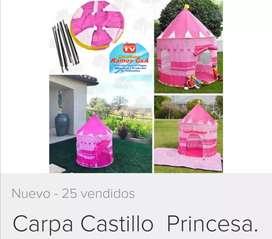 Castillo azul rosado promoción oferta disponible usa tu imaginación