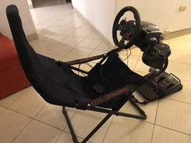 PlaySeat + Volante Logitech G29 con pedalera + Shifter