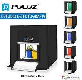 Mini Studio de Fotografía con luz LED 40x40 PULUZ