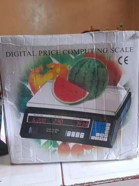 Vendo balanza digital economica