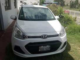 Vendo auto Hyundai Grand i10 sedan,  modelo 2017