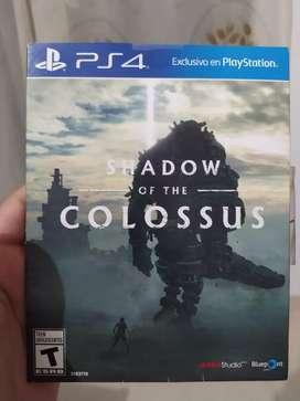 SHADOW OF THE COLUSSUS PS4
