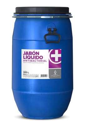 Jabón antibacterial Tambor 200L