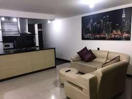 Alquiler de apartamento amoblado en Cali, 3 habitaciones