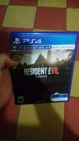 Resident evil 7 Ps4 Negociable