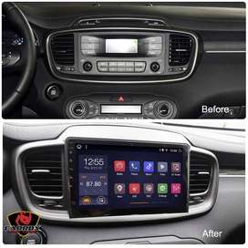 KIA SORENTO 2015 2018 AUTORADIO WIFI ANDROID GPS BLUETOOTH