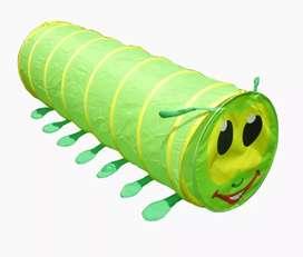 Jugaré tunel de gusano verde