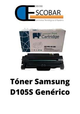 TONER GENERICO D105S COMPATIBLE CON IMPRESORA SAMSUNG
