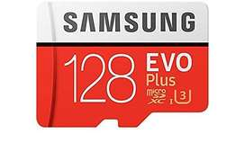Memoria Samsung Micro SD-XC 128GB Evo Plus Original Clase 10 Full HD y 4k