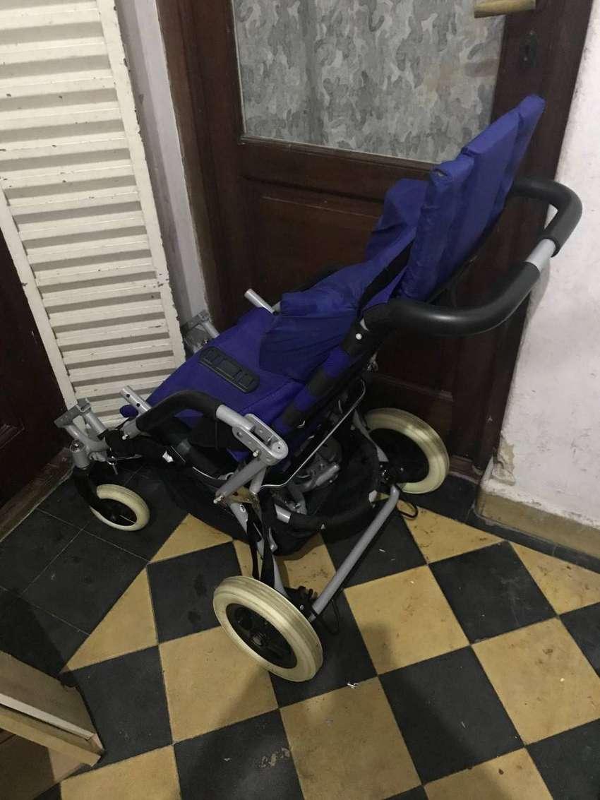 silla de paseo plegable especial para discapacitados 0