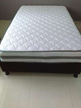 Gangazo base cama con colchon