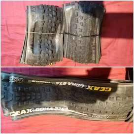 Llantas usadas para bicicleta XC con vida útil