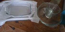 Juego de refractarias de 5 piezas - 100% vidrio