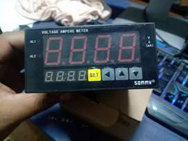 Amperímetro digital 4 dígitos 6000 amp DC