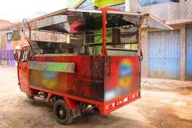 Por emergencia venta de moto furgón de comida Rápida (precio conversable)