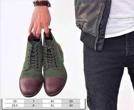 Botines Zapatos de cuero