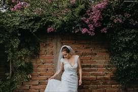 OFERTA Vestido de novia talla 38/Small