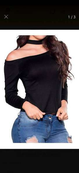 Body Mujer Color Negro