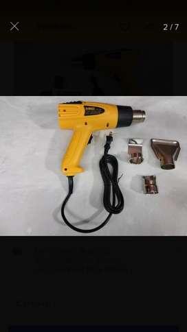 Pistola de calor tipo dewalt nueva