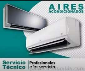 Aires acondicionados instalación mantenimiento preventivo y correctivo e instalación